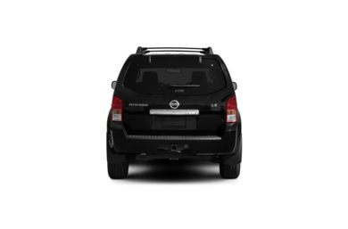 Surround Rear Profile 2010 Nissan Pathfinder