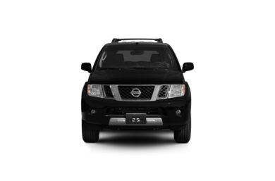 Surround Front Profile  2010 Nissan Pathfinder