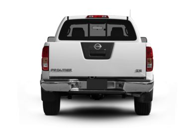 Rear Profile  2010 Nissan Frontier