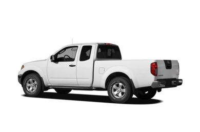 Surround 3/4 Rear - Drivers Side  2010 Nissan Frontier