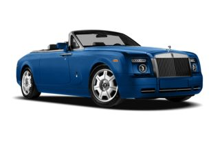 3/4 Front Glamour 2010 Rolls-Royce Phantom Drophead Coupe