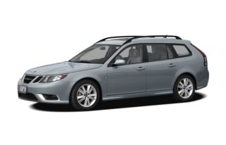 3/4 Front Glamour 2010 Saab 9-3X