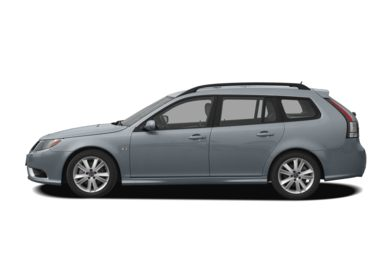 90 Degree Profile 2010 Saab 9-3X