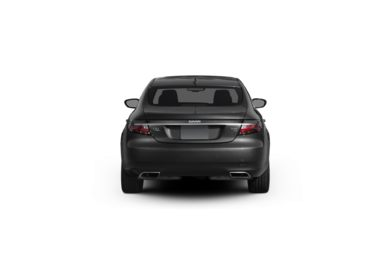 Surround Rear Profile 2010 Saab 9-5