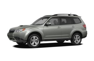 3/4 Front Glamour 2010 Subaru Forester