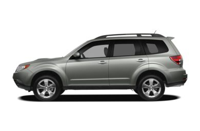 90 Degree Profile 2010 Subaru Forester