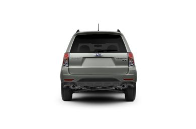 Surround Rear Profile 2010 Subaru Forester