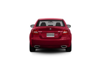 Surround Rear Profile 2010 Suzuki Kizashi
