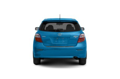 Surround Rear Profile 2010 Toyota Matrix
