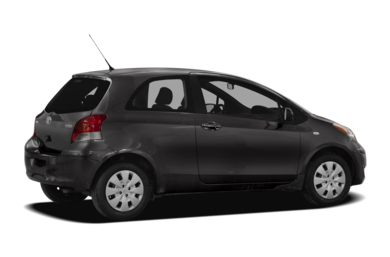 3/4 Rear Glamour  2010 Toyota Yaris