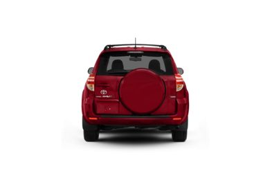 Surround Rear Profile 2010 Toyota RAV4