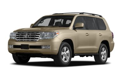 3/4 Front Glamour 2010 Toyota Land Cruiser