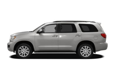 90 Degree Profile 2010 Toyota Sequoia