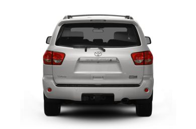 Rear Profile  2010 Toyota Sequoia