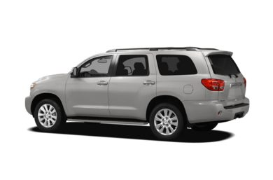 Surround 3/4 Rear - Drivers Side  2010 Toyota Sequoia