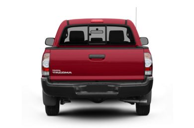 Rear Profile  2010 Toyota Tacoma