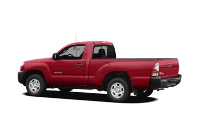 Surround 3/4 Rear - Drivers Side  2010 Toyota Tacoma