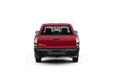 Surround Rear Profile 2010 Toyota Tacoma