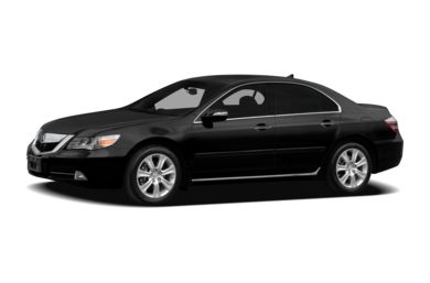 3/4 Front Glamour 2011 Acura RL