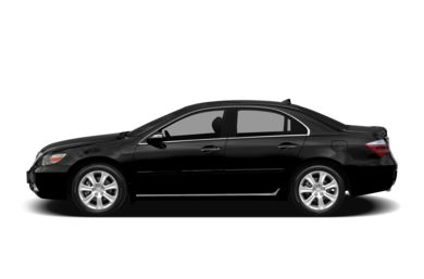 90 Degree Profile 2011 Acura RL