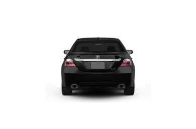 Surround Rear Profile 2011 Acura RL