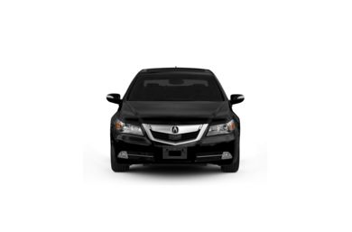 Surround Front Profile  2011 Acura RL
