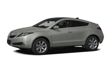 3/4 Front Glamour 2011 Acura ZDX