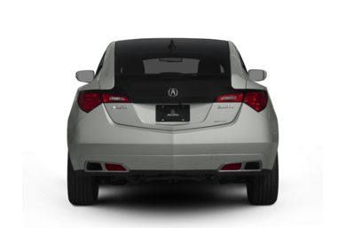 Rear Profile  2011 Acura ZDX