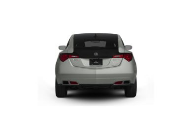 Surround Rear Profile 2011 Acura ZDX