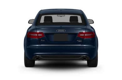 Rear Profile  2011 Audi A6