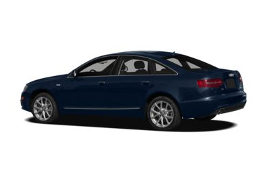 Surround 3/4 Rear - Drivers Side  2011 Audi A6