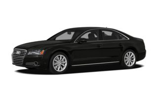 3/4 Front Glamour 2011 Audi A8