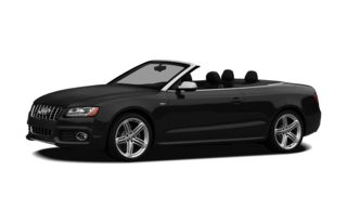 3/4 Front Glamour 2011 Audi S5