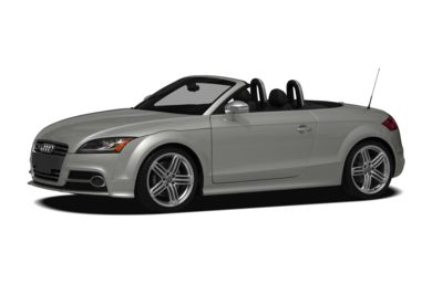 3/4 Front Glamour 2011 Audi TTS