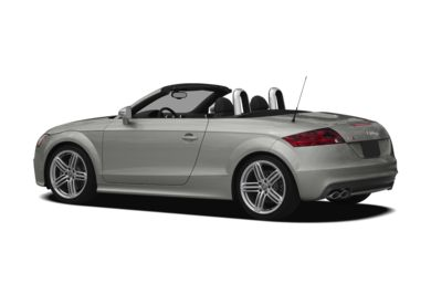 Surround 3/4 Rear - Drivers Side  2011 Audi TTS