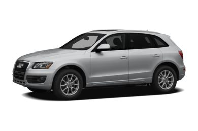 3/4 Front Glamour 2011 Audi Q5