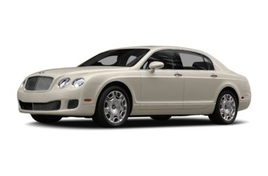 3/4 Front Glamour 2011 Bentley Continental Flying Spur