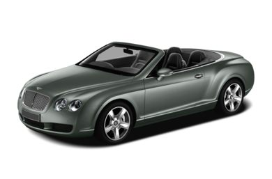 3/4 Front Glamour 2011 Bentley Continental GTC
