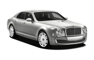 3/4 Front Glamour 2011 Bentley Mulsanne