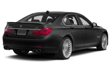 3/4 Rear Glamour  2011 BMW ALPINA B7