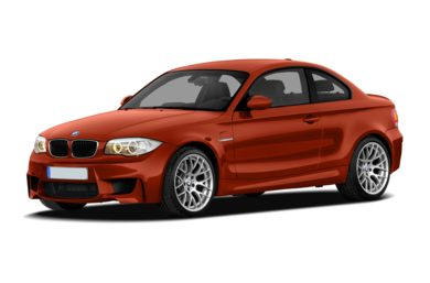 3/4 Front Glamour 2011 BMW 1 Series M
