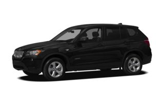3/4 Front Glamour 2011 BMW X3