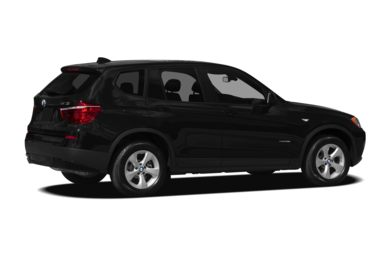 3/4 Rear Glamour  2011 BMW X3