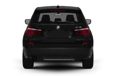 Rear Profile  2011 BMW X3