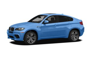 3/4 Front Glamour 2011 BMW X6 M