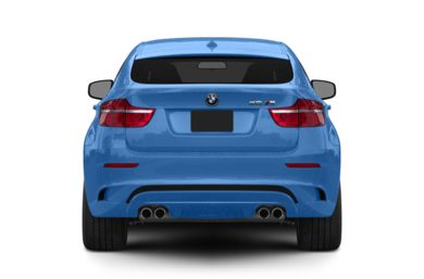 Rear Profile  2011 BMW X6 M