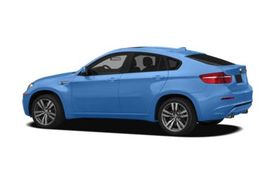 Surround 3/4 Rear - Drivers Side  2011 BMW X6 M