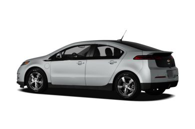 Surround 3/4 Rear - Drivers Side  2011 Chevrolet Volt