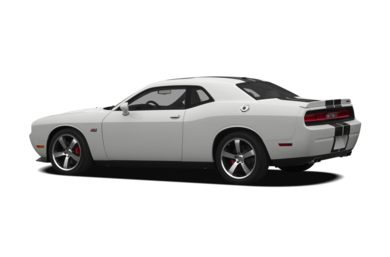 Surround 3/4 Rear - Drivers Side  2011 Dodge Challenger
