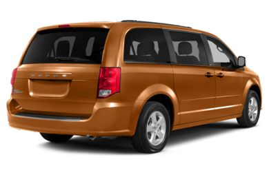 3/4 Rear Glamour  2012 Dodge Grand Caravan
